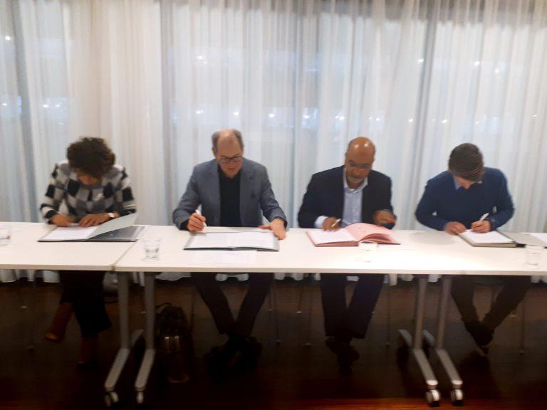 Gedragscode 2019 ondertekend